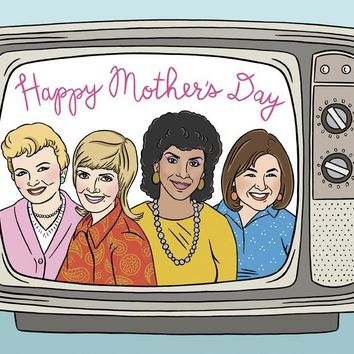 THE FOUND TV MOMS MOTHER'S DAY CARD