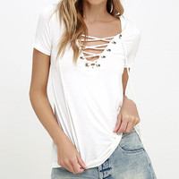 White Black Khaki 2016 Summer Sexy Women Lace Up Short Sleeve T Shirts V Neck Tee Shirts Casual Tops tshirt mujer Plus Sizes