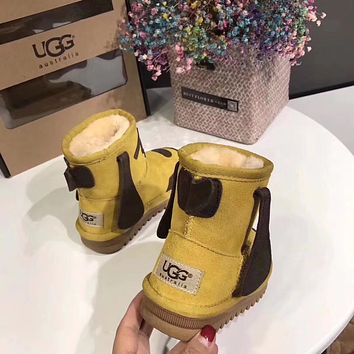 """UGG"" baby Fashion Wool Snow Boots"