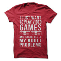 I Just Want To Play Video Games