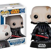 Funko Pop Star Wars: Unmasked Darth Vader Vinyl Figure