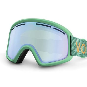 VonZipper - Trike Mint Snow Goggles / Green Chrome Lenses