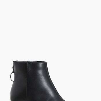 Lyse O Ring Ankle Boots | Boohoo
