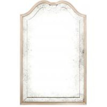 Queen Anne Roma Silver-leaf Mirror by Michael Smith