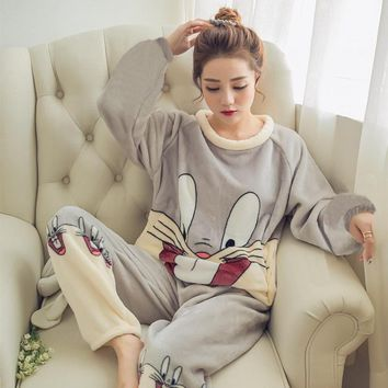 Winter Pajama Set  Sleepwear
