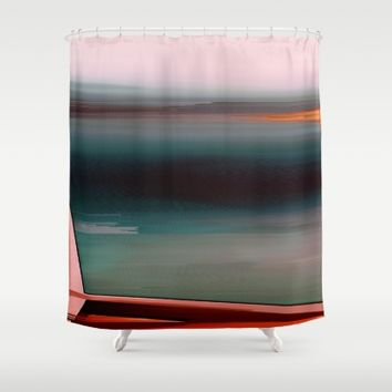 Stowaway Shower Curtain by Ducky B