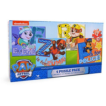 Paw Patrol Puzzle 4-Pack