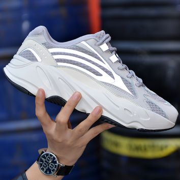 Adidas Yeezy 700 Runner Boost Classic Fashionable Women Men Running Sport Shoes Sneakers 3#
