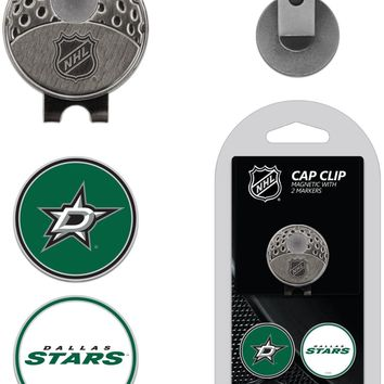 NHL Dallas Stars Hat Clip & 2 Magnetic Golf Ball Markers
