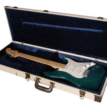 Deluxe Wood Case for Standard Electric Guitars