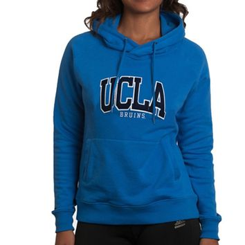 UCLA Women's Wool Applique Hoodie - Blue