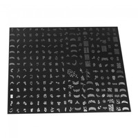 Super Nail DIY Art Steel Stamping Plate D Pattern Nail Art Tool 249 - Default