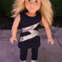 Sparkly Glam Doll Outfit