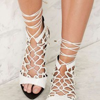 Lust For Life Venom Gladiator Sandal