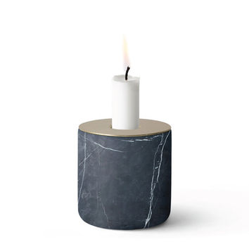 Chunk of Marble Candleholder - A+R Store