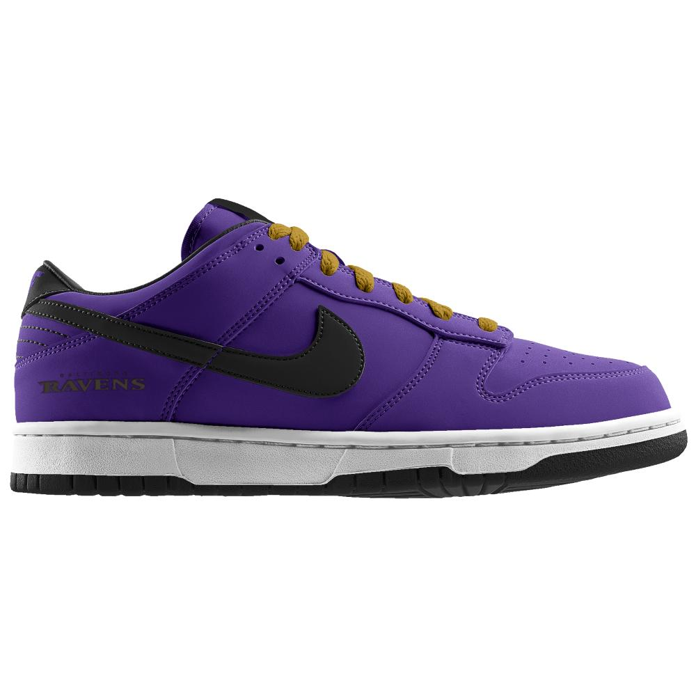 Nike Dunk Low NFL Baltimore Ravens iD from Nike