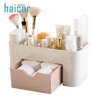 Multifunction Make Up Cosmetics Storage Box Container Bag Dresser Desktop Office Cosmetic Makeup Organizer