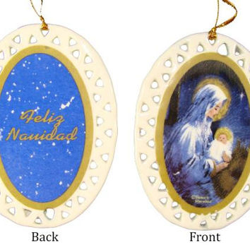 192 Christmas Ornaments - Mary And Baby Jesus