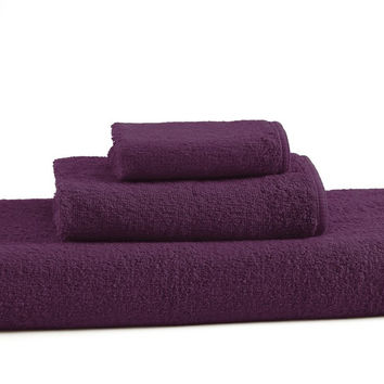 Prestige Towels Set of 3 | Aubergine
