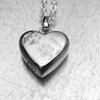 Cremation Necklace, Pet Urn, Urn Locket, Ashes Holder Necklace, Cremation Locket, Memory Locket, Cremation Jewelry