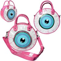Kreepsville 666 Eyeball Bag Pink