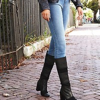 jeffrey campbell + free people Womens Mariana Knee Boot