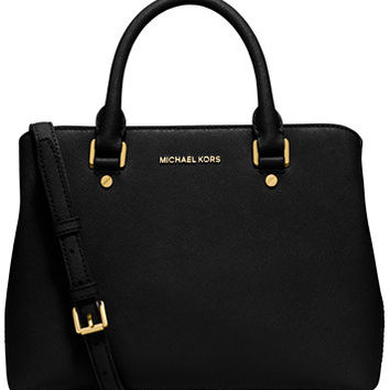 MICHAEL Michael Kors Savannah Medium Satchel | macys.com