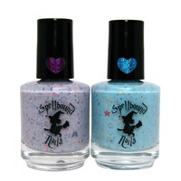 Spellbound Nails Nail Polish Duo in Lavender Chiffon & Petals to the Sky | Gloss48 | Gloss48