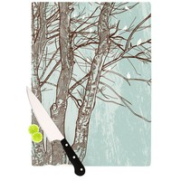 "Sam Posnick ""Winter Trees"" Cutting Board"