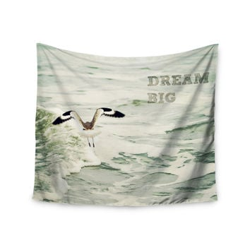 "Robin Dickinson ""Dream Big"" Ocean Bird Wall Tapestry"
