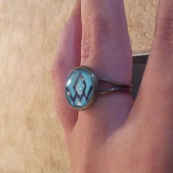 Twin Peaks Owl Cave Ring