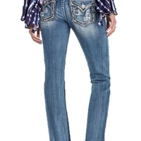 Miss Me Breakthrough Slim Bootcut Jeans