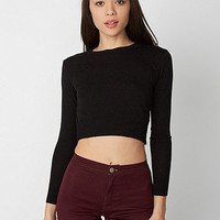Lightweight Crop Sweater | American Apparel
