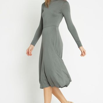 Montage Fit and Flare Midi Dress
