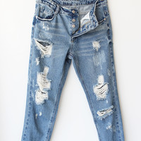Zahara Distressed Jeans