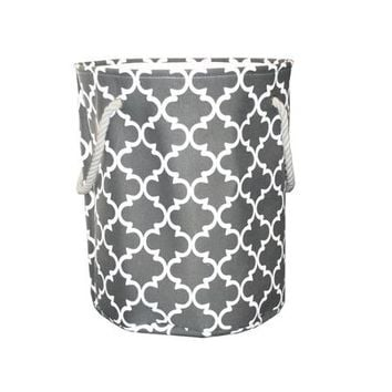 Mainstays Canvas Laundry Hamper, Grey - Walmart.com