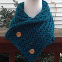 Boston Harbor Scarf Chunky Winter Knitted Cowl