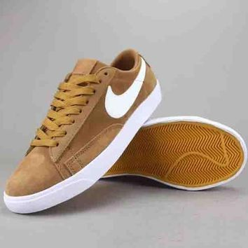 Nike Blazer Low Women Men Fashion Casual Old Skool Low-Top Shoes-1