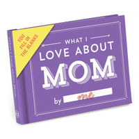 What I Love About Mom Journal by Knock Knock - knockknockstuff.com