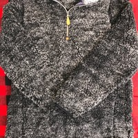 The Brooke Sherpa Pullover