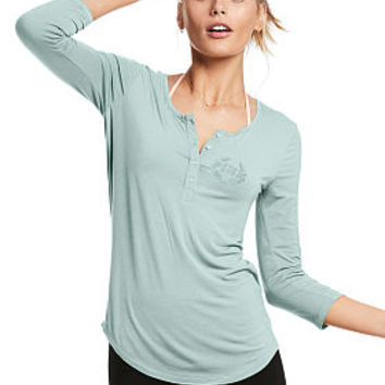 Super Soft Henley Tee - Victoria's Secret