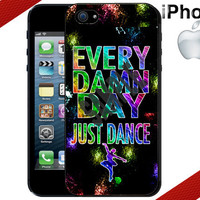 iPhone Case - Every Damn Day Just Dance - iPhone 4 Case or iPhone 5 Case - Hard Plastic iPhone Case