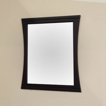 32 in Wood frame mirror