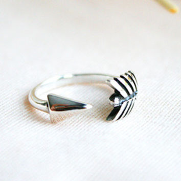 Arrow Silver Ring Sterling Ring .925 Silver Ring Personalized Ring