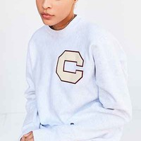 Champion + UO Varsity Letter Pullover Sweatshirt - Urban Outfitters