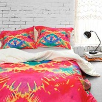 Rebecca Allen for DENY The Duchess Grand Duvet Cover- Multi
