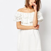 sister jane | Sister Jane Herritage Off Shoulder Bardot Dress at ASOS