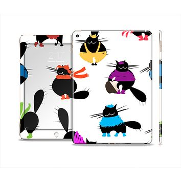 The Cute Fashion Cats Skin Set for the Apple iPad Air 2