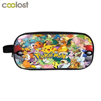 Pokemon Cosmetic Cases Cartoon