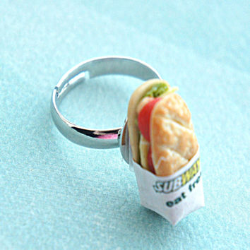 Subway Sandwich Ring